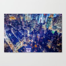 Manhattan From Above Canvas Print