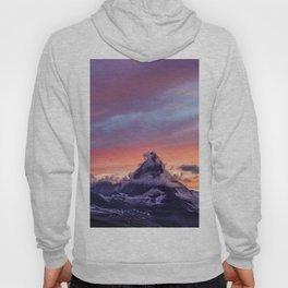 Himalayas Fishtail Mountain Sunset Hoody