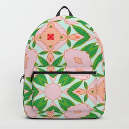 Painted Camelias Matching Pattern  Backpack