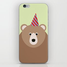 Party Bear iPhone Skin