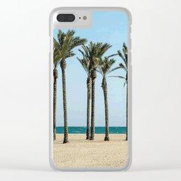Tropical beach #society6 Clear iPhone Case