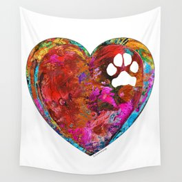 Dog Art - Puppy Love 2 - Sharon Cummings Wall Tapestry