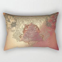 By Eternal Time Rectangular Pillow