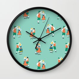 Oktoberfest Couples Wall Clock