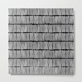 dashed stripe Metal Print