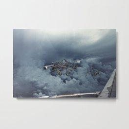 Cloud Park Metal Print