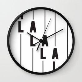 LA Los Angeles Wall Clock
