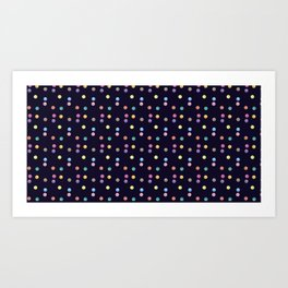 Bubble pattern 1 Art Print