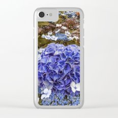 Holy Hydrangea I Clear iPhone Case