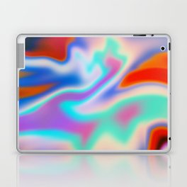 Holographic Abstract Neon Laptop & iPad Skin