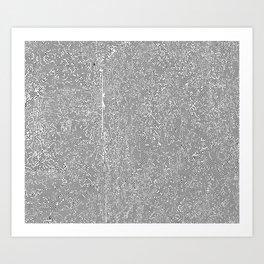 silicon iv Art Print