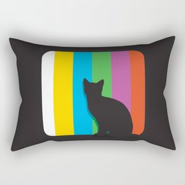 Cine cat Rectangular Pillow