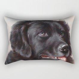 The Newfoundland Dog - Carl Reichert Rectangular Pillow