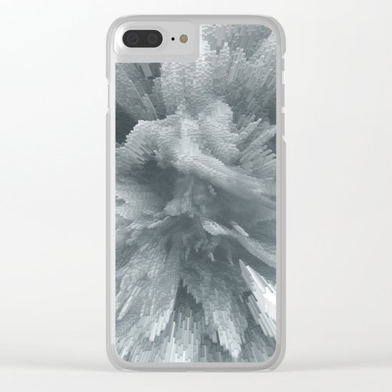 Abstract 232 Clear iPhone Case