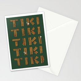 Tiki Tiki Tiki Tiki Tiki Stationery Cards