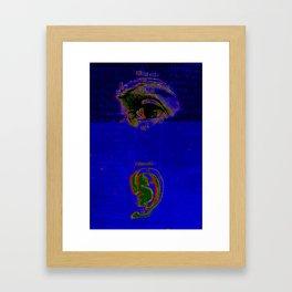 Senseless Framed Art Print