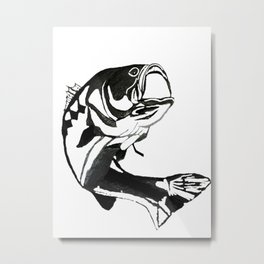 I'm All About That BASS Metal Print