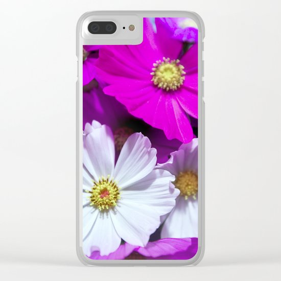 Tender Bouquet of Flowers Clear iPhone Case