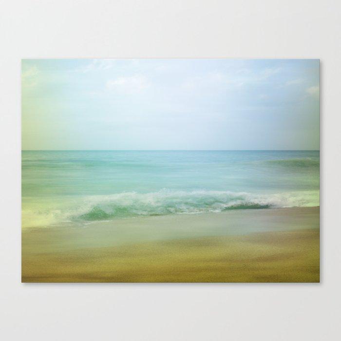 Beach Impression Canvas Print