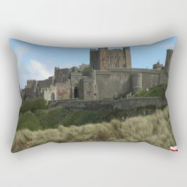 Bamburgh, England Rectangular Pillow