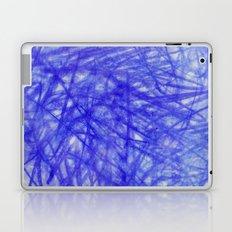 Ophelia Blue Scribble Laptop & iPad Skin