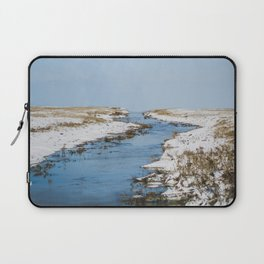 Where The Sky Bleeds Into The Earth Laptop Sleeve