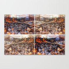 Burn Four Canvas Print