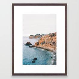 Palos Verdes, CA.  Framed Art Print
