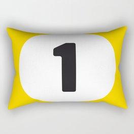 Ball 1 Billiard Rectangular Pillow