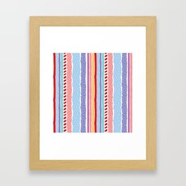 Candy madness Framed Art Print
