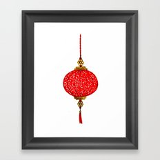 Chinese Lantern Framed Art Print