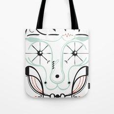 happy skull Tote Bag