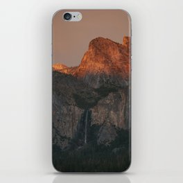 Yosemite Falls Sunset iPhone Skin