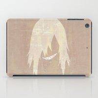 gurren lagann iPad Cases featuring Minimalist Viral by 5eth