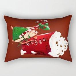 Christmas Rat 2014 Rectangular Pillow