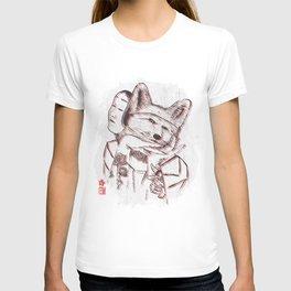 Kitsune Portrait T-shirt