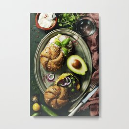Healthy sandwiches Metal Print