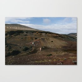 Valley (Iceland) Canvas Print