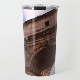 Roman Forum Arch Travel Mug
