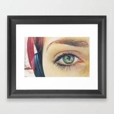 Beauty is in the eye of the beholder Framed Art Print
