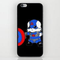 avenger iPhone & iPod Skins featuring Avenger Dog by Rocky Moose