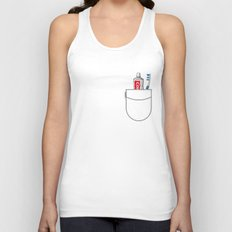 Pockets - Clean Freak - Unisex Tank Top