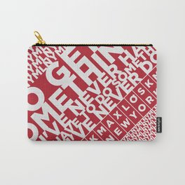 ★ MLNY ★ SPRING 2012 ★ MEN'S ACCESSORIES ★ Carry-All Pouch