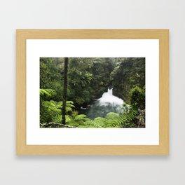 Kaituna Waterfall 2 Framed Art Print