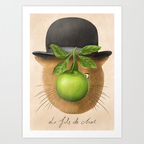 René Macatte Art Print