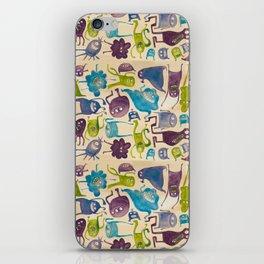 Critter pattern cool iPhone Skin
