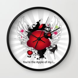 You're the Apple of my i.... Wall Clock