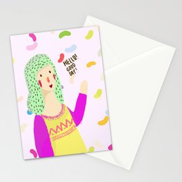Hello! Good Day! Stationery Cards