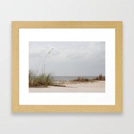 Biloxi Beach Framed Art Print