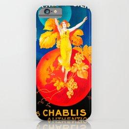 Vintage poster - La Chablisienne iPhone Case